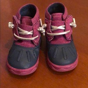 Toddler Size 4 Girl Sperry Rain boot